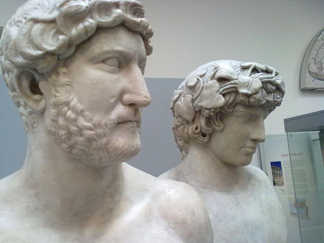 ADriano 1280px-Hadrian_and_Antinous_bust_British_Museum