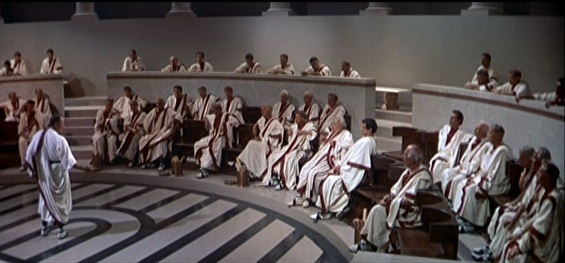 the-roman-senate-is-powerless-to-stop-a-slave-army-led-by-spartacus-that-threatens-to-undermine-their-authority