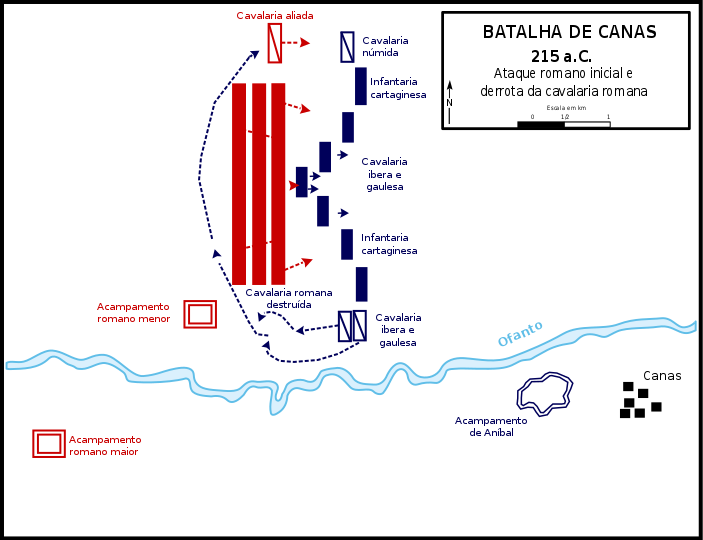 Battle_of_Cannae,_215_BC_-_Initial_Roman_attack-pt.svg