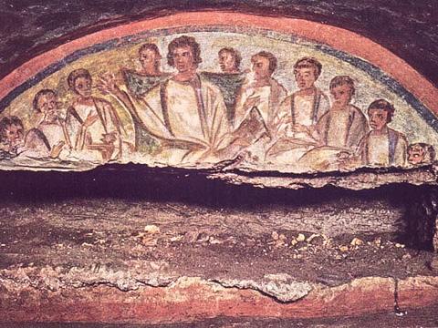 catacomb-sdomitilla-fresco-apostles.jpg
