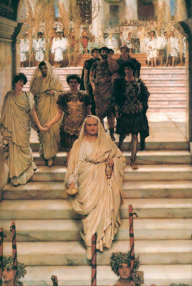 Trinfo de Tito 800px-The_Triumph_of_Titus_Alma_Tadema