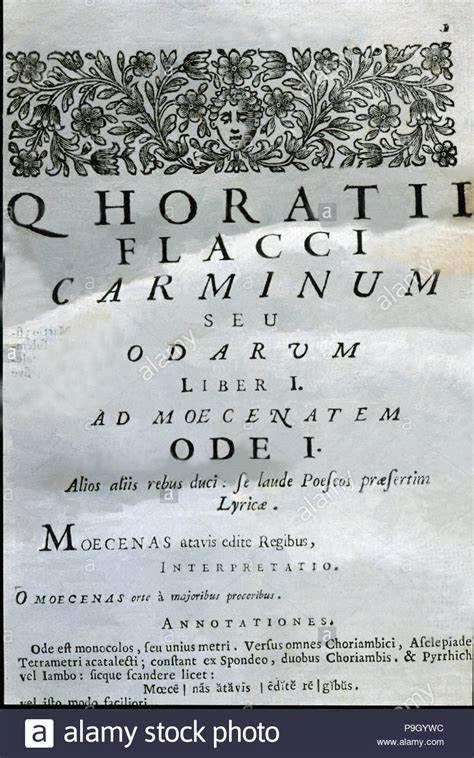 horatius carmina th