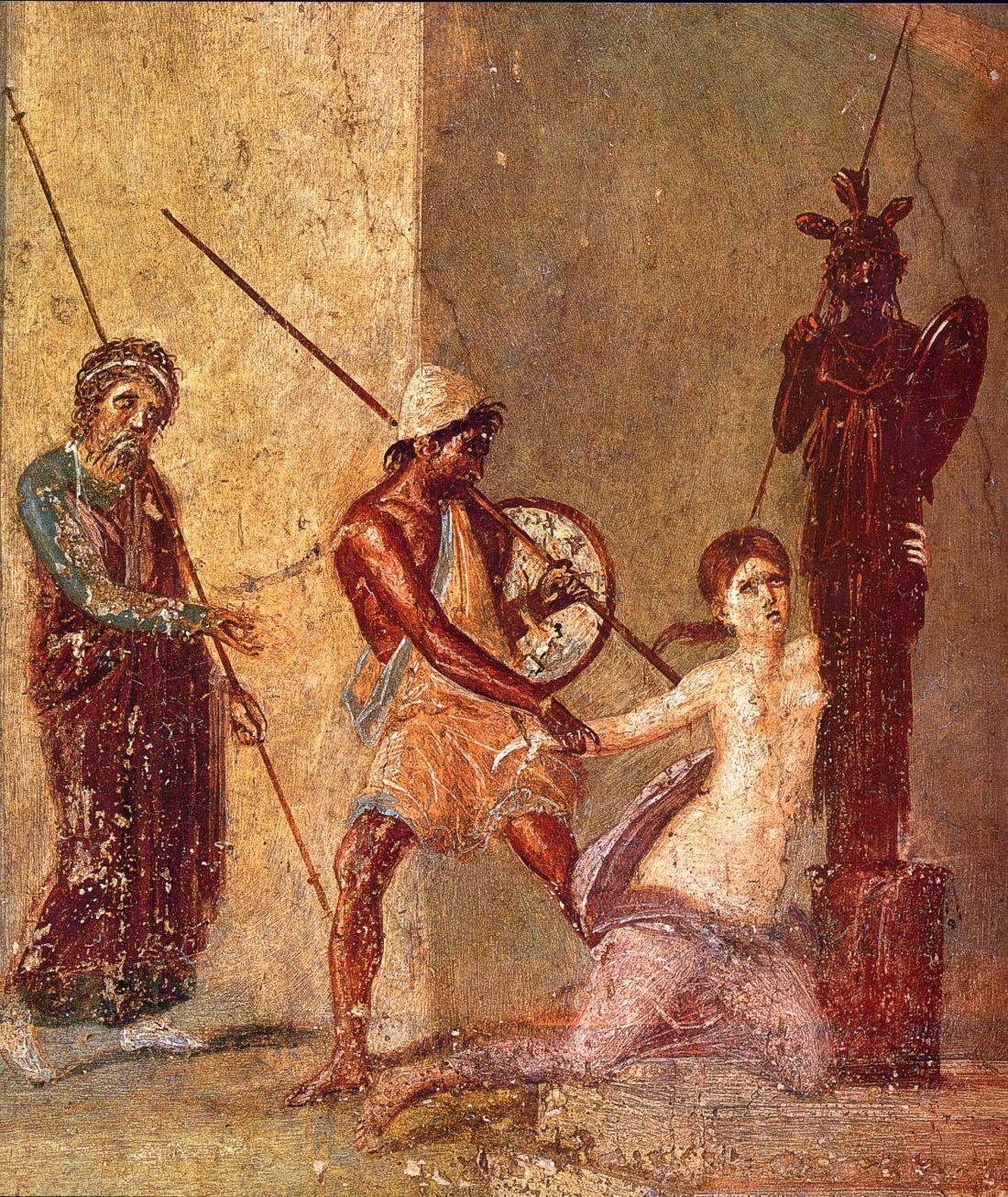 Pompeii_-_Casa_del_Menandro_-_Menelaos